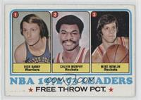 Rick Barry, Calvin Murphy, Mike Newlin [Poor to Fair]