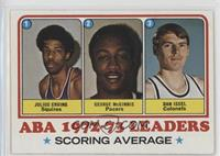 Julius Erving, George McGinnis, Dan Issel