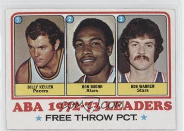 1973-74 Topps - [Base] #237 - Bill Keller, Ron Boone, Bob Warren