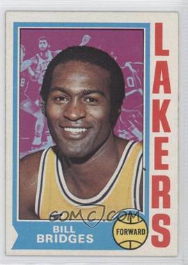 1974-75 Topps - [Base] #13 - Bill Bridges