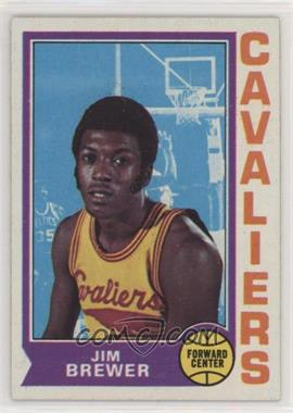 1974-75 Topps - [Base] #134 - Jim Brewer