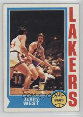 1974-75 Topps - [Base] #176 - Jerry West