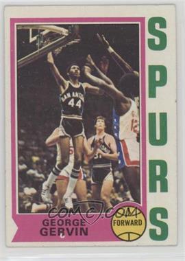 1974-75 Topps - [Base] #196 - George Gervin