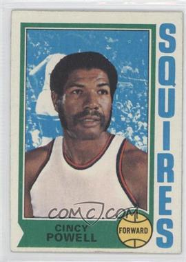 1974-75 Topps - [Base] #198 - Cincinnatus Powell