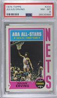 ABA All-Stars (Julius Erving) [PSA8NM‑MT]