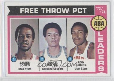 1974-75 Topps - [Base] #210 - Jake Jones, Mack Calvin, Ron Boone, James Jones, James Jones