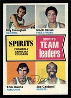Billy Cunningham, Mack Calvin, Tom Owens, Joe Caldwell [NM]