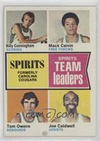 Billy Cunningham, Mack Calvin, Tom Owens, Joe Caldwell [GoodtoVG&#8…