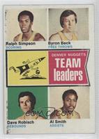 Ralph Simpson, Byron Beck, Dave Robisch, Al Smith