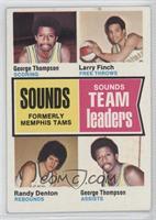 George Thompson, Larry Finch, Randy Denton