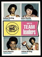 Julius Erving, John Roche, Larry Kenon [EXMT]