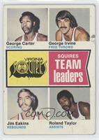 George Carter, George Irvine, Jim Eakins, Ronald Taylor, Roland Taylor [Poor]