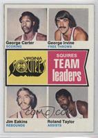 George Carter, George Irvine, Jim Eakins, Ronald Taylor, Roland Taylor