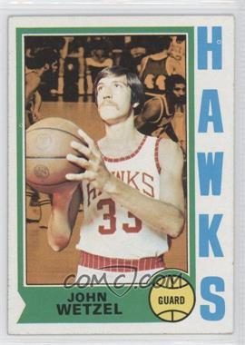 1974-75 Topps - [Base] #77 - John Wetzel