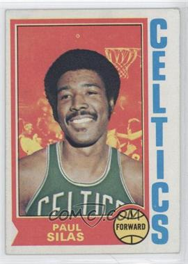 1974-75 Topps - [Base] #9 - Paul Silas