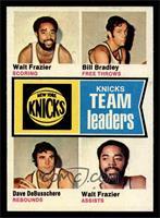 Walt Frazier, Bill Bradley, Dave DeBusschere [NM]
