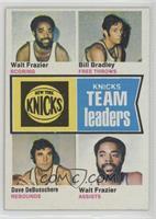 Walt Frazier, Bill Bradley, Dave DeBusschere