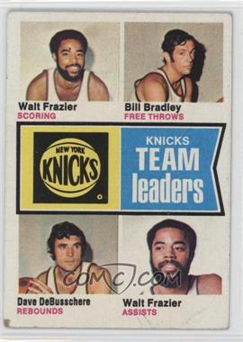 1974-75 Topps - [Base] #93 - Walt Frazier, Bill Bradley, Dave DeBusschere [GoodtoVG‑EX]
