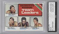 Golden State Warriors Team Leaders (Rick Barry, Clifford Ray) [ENCASED]