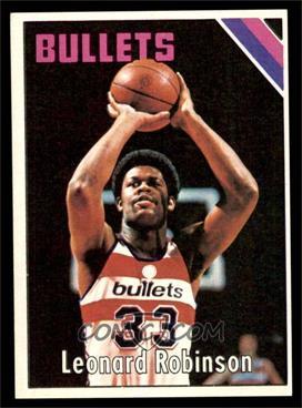 1975-76 Topps - [Base] #151 - Leonard Robinson [EXMT]
