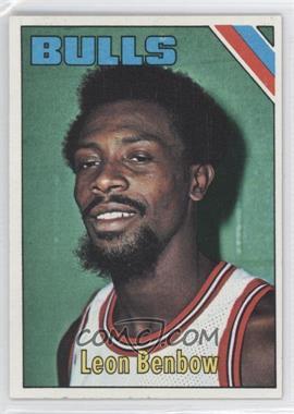 1975-76 Topps - [Base] #196 - Leon Benbow