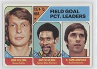 Don Nelson, Butch Beard, Rudy Tomjanovich [Good to VG‑EX]