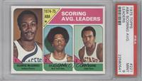 Scoring Avg. Leaders (George McGinnis, Julius Erving, Ron Boone) [PSA 9&nb…