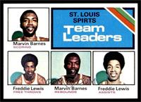 Marvin Barnes, Freddie Lewis [NM MT]
