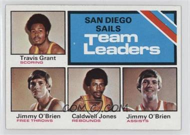 1975-76 Topps - [Base] #285 - Travis Grant, Caldwell Jones, Jimmy O'Brien