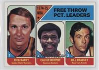 Rick Barry, Calvin Murphy, Bill Bradley