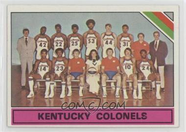 1975-76 Topps - [Base] #323 - Kentucky Colonels (ABA) Team
