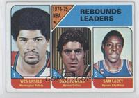Wes Unseld, Dave Cowens, Sam Lacy [Good to VG‑EX]