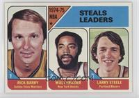 Rick Barry, Walt Frazier, Larry Steele