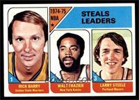 Rick Barry, Walt Frazier, Larry Steele [EXMT]