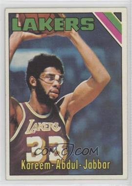 1975-76 Topps - [Base] #90 - Kareem Abdul-Jabbar