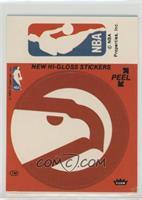 Atlanta Hawks/NBA Logo (Red) [Poor]