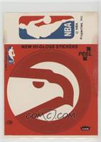 Atlanta Hawks/NBA Logo (Red) [PoortoFair]
