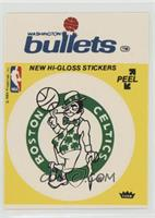 Boston Celtics/Washington Bullets (Yellow) [Poor to Fair]