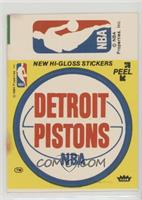 Detroit Pistons/NBA Logo [Poor to Fair]