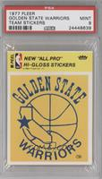 Golden State Warriors Team (Yellow) [PSA 9]