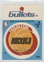 Houston Rockets Team, Washington Bullets Team (Blue) [GoodtoVG&#820…