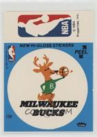 Milwaukee Bucks, NBA Logo (Blue) [GoodtoVG‑EX]