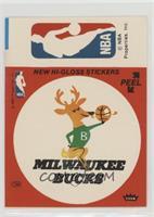 Milwaukee Bucks, NBA Logo (Red) [PoortoFair]