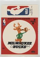 Milwaukee Bucks, NBA Logo (Red) [Good to VG‑EX]