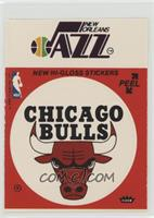 New Orleans Jazz, Chicago Bulls (Red) [Good to VG‑EX]