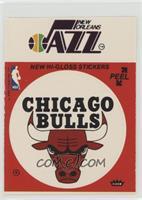New Orleans Jazz, Chicago Bulls (Red) [GoodtoVG‑EX]