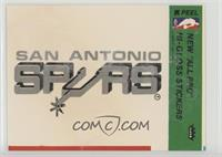 San Antonio Spurs [Good to VG‑EX]