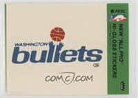 Washington Bullets Team [Poor]