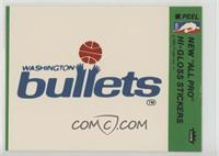Washington Bullets Team [GoodtoVG‑EX]