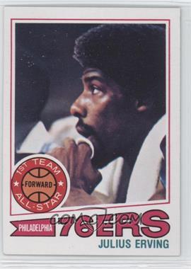 1977-78 Topps - [Base] - White Back #100 - Julius Erving